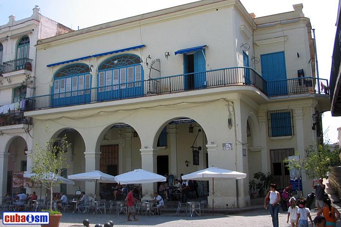 Casa de la familia Franchi-Alfaro, la Habana Vieja, Cuba