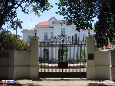 Casa de Pablo González de Mendoza, La Habana, Cuba
