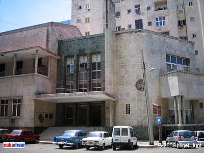 Colegio de Arquitectos e Ingenieros, La Habana, Cuba