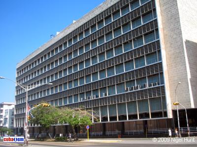 Antigua Compañía Cubana de Electricidad, Centro Habana, Cuba