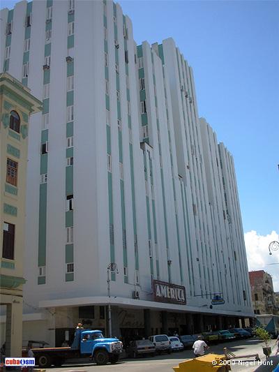 Edificio América, Centro Habana, Cuba