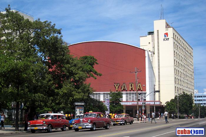 Edificio Radiocentro, La Habana, Cuba