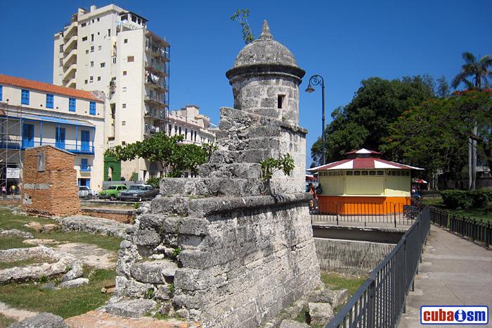 Muralla de La Habana, Cuba